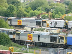 60057 60090 Toton 08/06/2013 (37686) Tags: 5 66 class type tug 60 midlands ews toton railfreight dbschenker