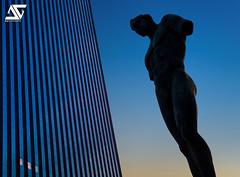 Icare / sunrise version (A.G. Photographe) Tags: sunset paris france french nikon europe ag capitale nikkor dri franais hdr parisian ladfense anto d800 icare xiii igormitoraj parisien 2470 ge antoxiii agphotographe