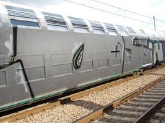 Immagine 134 (en-ri) Tags: train writing torino graffiti grigio zod argento wholecar toptobottom 2os