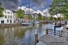 Lange Haven (Jan Kranendonk) Tags: holland netherlands dutch boot boat canal europe boten hdr gracht schiedam steiger