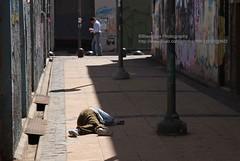 Valparaso, Mercado Puerto, poverty (blauepics) Tags: poverty chile street city man puerto person harbour strasse social mercado stadt mann hafen problems valparaso armut sozial probleme