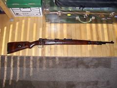 1943 Russian Capture K98 (dot) -- right side (secretazure) Tags: germany gun brno guns 12 woodstock 8mm rc firearms stockwood mauser madeingermany k98 8mmmauser 8x57 russiancapture walnutstock k98mauser paulmauser woodwalnut 1943dot 1943dotk98mauser rck98mauser 1943rck98mauser largeringmilitarymauser