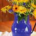 01. rustic flower arrangement