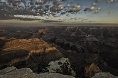 Fall In Arizona (rschnaible) Tags: national parks us usa west western grand canyon park arizona red rock south desert destination desolate morning sunrise geology geologic view vista hike rim trail cloudy day nrpad