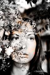 Run away portrait (UndeathRock) Tags: people blackandwhite girl photography photo fineart portatrait