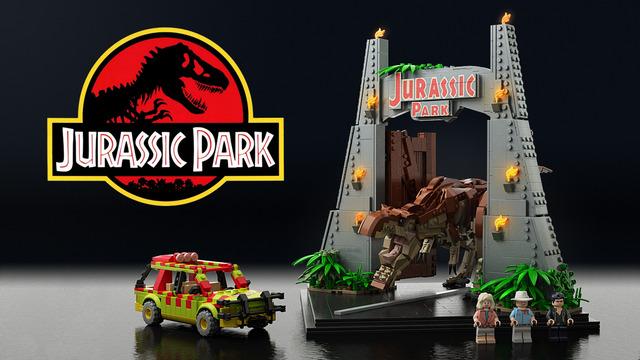 LEGO CUUSOO 侏儸紀公園組 現正投票中