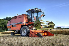 Dronningborg D3000 - HDR (Sir. Jensen) Tags: farmhdr nikond7000hdr hdrharvest dronningborgd3000