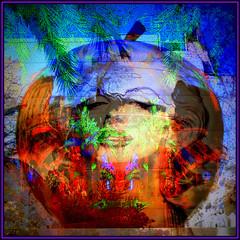 The Original Sin (Pifou 2010) Tags: woman abstract paris france art home apple colors fun couleurs femme pomme chezmoi abstrait 2013 artdigital theoriginalsin gerardbeaulieu pifou2010