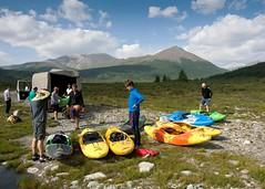 Kayaking in The Sayan Mountains, Siberia (mattcorke) Tags: white mountains water whitewater kayak russia rapids siberia kayaking sayan rapid