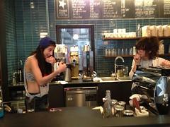 Oh hey... (Third Rail Coffee) Tags: nyc coffee rail 10012 third espresso 10003 stumptown thirdrailcoffee 240sullivanstreet 159secondavenue 10thandstuyvesant