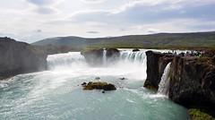 Goafoss - wide view (Martin Ystenes - http://hei.cc) Tags: waterfall iceland sland godafoss mygearandme mygearandmepremium godafoss
