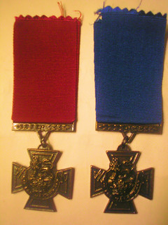 The Victoria Cross. Army and Navy Versions.