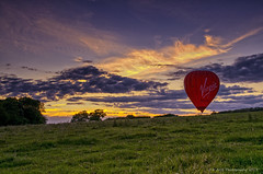 Virgin balloon Sunset (AGB Photography) Tags: sunset sky nikon balloon virgin d7000 agbphotography