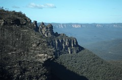 Blue mountains 3 sisters (Rich Powell) Tags: mountain 3d bluemountains