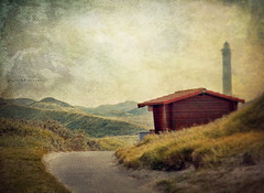 wherever the way is going (silviaON) Tags: lighthouse way october path dunes norderney ie textured 2013 soulscapes contemporaryartsociety memoriesbook bsactions magicunicornverybest magicunicornmasterpiece kerstinfrankart ellenvd isabellafranceaction
