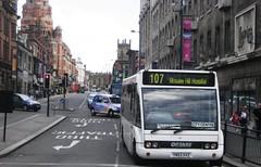 YN53SVZ (Bus Ad Man) Tags: 107 wirral optare optaresolo holmeswoodcoaches optaresolom850 a1atravel yn53svz