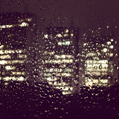 just this (ciglieggia) Tags: city fall rain square lights solitude stockholm squareformat brannan luci autunno pioggia citt solitudine iphoneography instagramapp