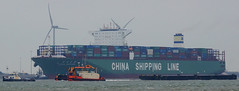 CSCL JUPITER , C-ODYSSEY & NP 403 (kees torn) Tags: offshore tugs harmonie containerschepen codyssey cscljupiter
