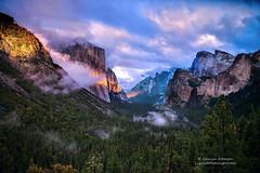 Sierra Storm - Yosemite Valley (Darvin Atkeson) Tags: light sunset snow storm mountains fall forest landscape nationalpark nevada falls sierra valley yosemite peaks bridalveil elcapitan tunnelview darvin atkeson darv liquidmoonlightcom