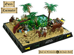 Oasis Encounter (Disco86) Tags: castle paul hall desert von merchant guild lcc brickenstein vision:outdoor=0935