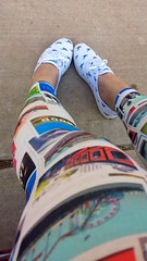 Untitled photo [03DD7CA2-0846-4ABA-BDAC-9788A41BCB07] (Forever Gracie) Tags: woman fashion photography model shoes style sneakers kicks keds