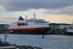 MS Nordlys in Trondheim (ArveBerntzen) Tags: travel history germany norge harbour tourist