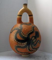 vaso cretese_tecnica ceramica e ingobbi colorati