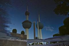 Kuwait Towers after rain (Aisha Altamimy) Tags:
