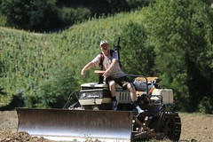 Jon White on tractor day 2