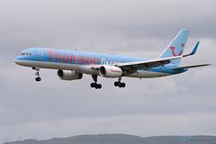 G-BYAX B757-204 Thomson Airways (kw2p) Tags: glasgow aircraft aviation aeroplane boeing airliner glasgowairport egpf gbyax b757204 thomsonairways egpfgla