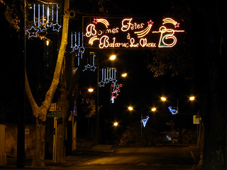 Balaruc-le-Vieux (34), illuminations 2011