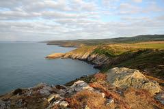 Strumble Head Evening (brackenb) Tags: wales coast westwales strumblehead pembrokeshire coastalpath pembrokeshirecoast explored pembrokeshirecoastnationalpark porthsychan