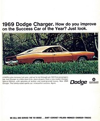 1969 Dodge Charger (Rickster G) Tags: 1969 car ads 1971 flyer 60s muscle convertible super literature 1966 bee 1967 70s dodge 1970 1968 hemi mopar 500 daytona sales 1972 brochure 440 1973 rt charger sixpack dealer 426 383 4406 bbody scatpack