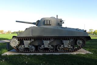 M4A3 Sherman SN 12281 in St Leon