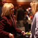 Jan Brewer with supporter