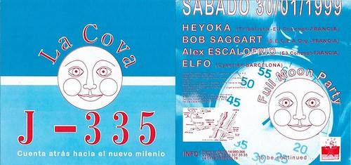 "Patrice Heyoka - Flyer 30/01/1999 La Cova (Barcelone) - préflyer <a style=""margin-left:10px; font-size:0.8em;"" href=""http://www.flickr.com/photos/110110699@N03/12210756633/"" target=""_blank"">@flickr</a>"