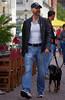 . (ЯAFIK ♋ BERLIN) Tags: blue gay dog man jeans bestfriend potsdam bulge bulto