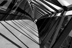 Think Different!!! (yui fan) Tags: light shadow lines architecture composition contrast mono break different jay dof view angle pov unique no details horizon rules diagonal framing effect rule depth 500px sabapathy ifttt