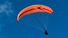 Paraglider wing glowing in the sunshine (Keith in Exeter) Tags: above uk england sky sport freedom devon paragliding dartmoor overhead dartmoornationalpark mygearandme mygearandmepremium mygearandmebronze mygearandmesilver mygearandmegold