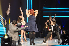 The judges dancing