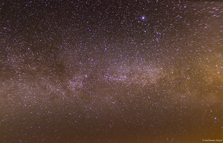The Milky Way - 01/03/2014 [50 superimposed photos]