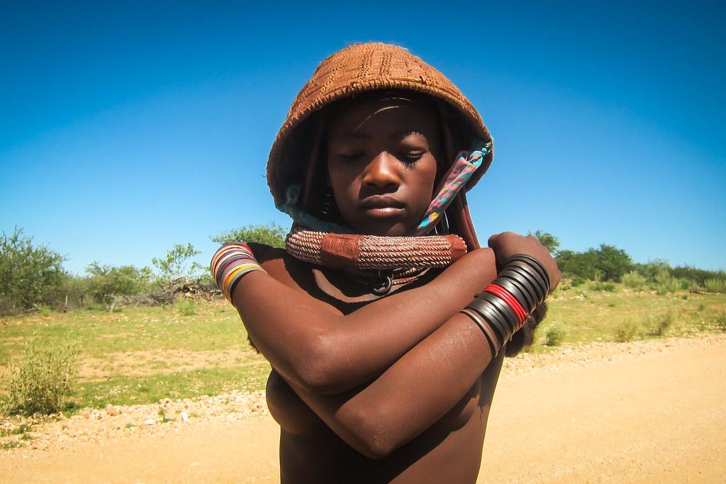 Young nude himba girl #8