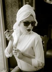 Rosie_1328 (MayFLi imaging) Tags: audrey costume dressingup fashion glossop hollywood location manchester marlene mayfli models moviestars picolounge themedshoot vintage winston mayfli02gmailcom photoshoot strobist