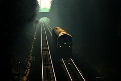 56094 at Lea Marston (robmcrorie) Tags: 6e07 washwood heath boston docks steel class 56 grid colas train rail railfan freight backlit warwickshire