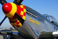 Lady Alice (bob3052) Tags: a100 bob3052 fighter mustang p51 riversideairshow2017 usaaf ww2 wwii