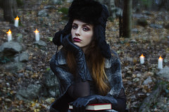 Racconto d'Inverno (Michela Riva Photography) Tags: 62mm carso daguerre editorial fashion lomography model mood naturallight nikon outdoor photography portrait primelens trieste vintage winter woman beautiful bokeh cinematic dark dream emotion emotional enchanted fairytale fineart forest girl italy magic moody nature photoshoot redhair redhead retro romantic story victorian wood