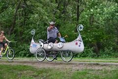 2015 Art Car Parade (schwerdf) Tags: artcarparade bicycles lakeharriet minneapolis minnesota unitedstates vikebike