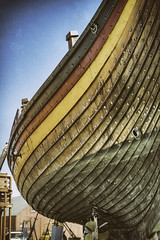 Draken In Drydock (joegeraci364) Tags: woodenboat wood reproduction nauticalphotography nautical draken norway norse viking heritage handmade voyage scenic craft history travel beach shore coast scandinavia sail sailing ship vessel atlantic