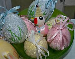 PEEP! (BKHagar *Kim*) Tags: bkhagar easter happyeaster rabbit rabbits egg eggs decoration decorations