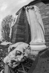 Tornado Damage at the Church (Kyle William Russell) Tags: church religious religion statue decapitated beheaded amazing destuction aftermath tornado